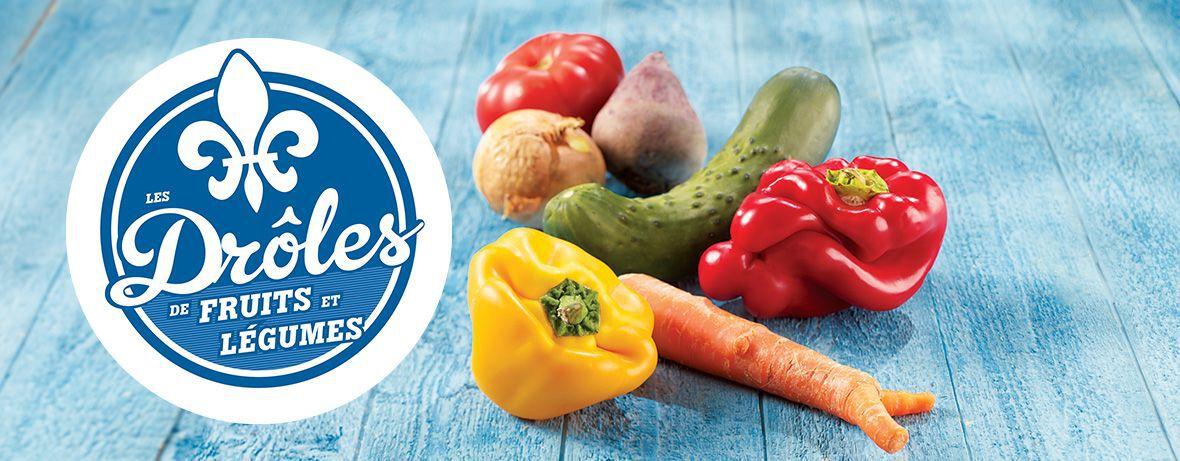 Drôles de fruits et légumes